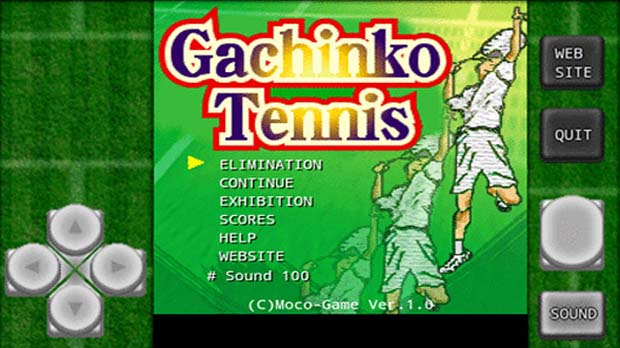 Press No Buttons #2: Gachinko-Tennis